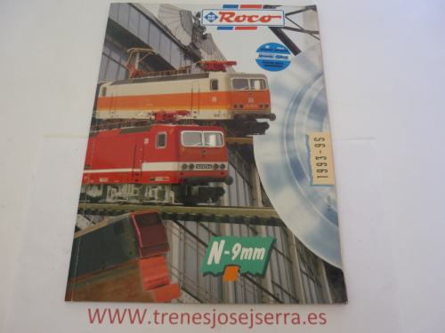 CATALOGO ROCO 1993-1995 ESCALA N