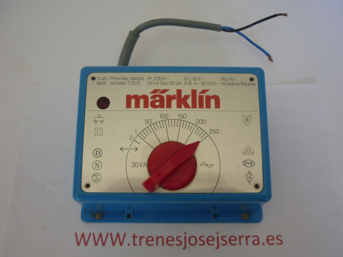 MARKLIN TRANSFORMADOR 6631