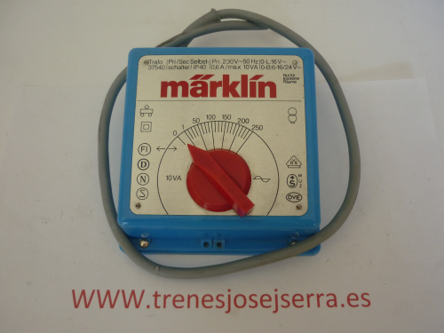 MARKLIN TRANSFORMADOR 37540